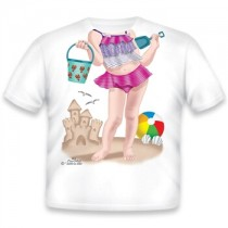 Just Add a Kid, T,Shirt Beach Brat , 2-3 years