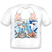 Just Add a Kid, T,Shirt Shark Tank Boy , 3-4 years