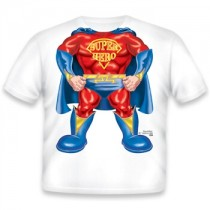 Just Add a Kid, T,Shirt Super Hero , 4-5 years