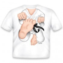 Just Add a Kid, T,Shirt Karate , 4-5 years