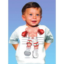 Just Add a Kid, T,Shirt Boxer Lebanon , 3-4 years