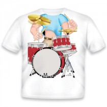 Just Add a Kid, T,Shirt Drummer , 2-3 years