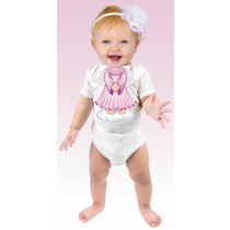 Just Add a Kid, Romper Angel Pink , 1-2 years