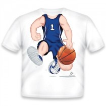 Just Add a Kid, T,Shirt Basketball Dark Blue Youth,XS