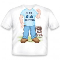 Just Add a Kid, T,Shirt Brother Big , 3-4 years