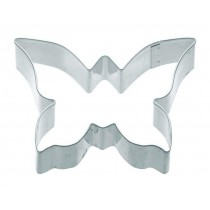 KitchenCraft, Butterfly Shaped Metal Cookie Cutter, 7.5 cm