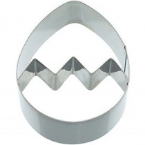 KitchenCraft, Egg Shaped Cookie Cutter, 9 cm