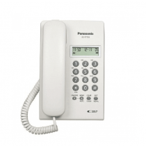 Panasonic Corded Phone DECT, 50 station caller ID memory, White - KXT7703X