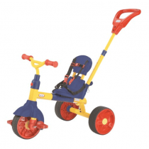 Little Tikes, Learn To Pedal Trike, Orange And Blue, 3 In 1