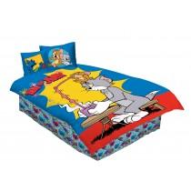 Drap D'Lit, Fitted Sheet Set , Tom & Jerry, 3 Pcs