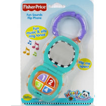 Fisher-Price Fun Sounds Flip Phone Miracles