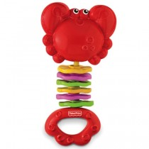 Fisher-Price Clack N Wiggle Red Crab