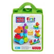Fisher-Price Mega Bloks First Builders Animal Adventures Playset
