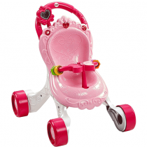 Fisher-Price Princess Mommy Stroll Along, Musical Walker