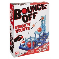 Mattel, Bounce-Off, Stack 'N' Stunts Game