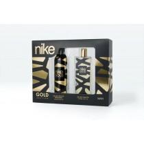 Nike, Man Gold Edition Gift Set, Eau De Toilette 100ml + Deodorant 200ml