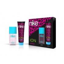 Nike, Woman Ion Gift Set, Eau De Toilette 50ml + Body Lotion 100ml