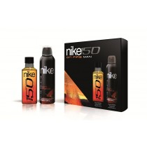 Nike, Man On Fire Gift Set, Eau De Toilette 150ml + Deodorant 200ml