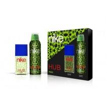 Nike, Man Hub Gift Set, Eau De Toilette 50ml + Deodorant 200ml