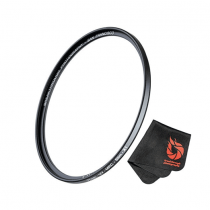 Massa filter 62 mm For Camera Lenses, Polarizer Photography Filter with Lens Cloth - P674