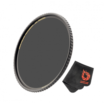 Massa filter 77 mm For Camera Lenses, Polarizer Photography Filter with Lens Cloth - P677