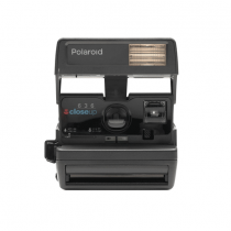 Polaroid Impossible Project 600 Square Black One Step Camera