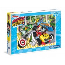 Clementoni, Disney Junior Mickey and The Roadster Racers, 100 pieces