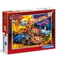 Clementoni, Disney Pixar Cars Spyworld Puzzle 60 pieces
