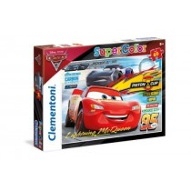 Clementoni, Disney Pixar cars3 Lightning me Queen Puzzle 60 pieces