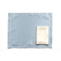 Ponti Home, Blu metallizzato Placemat, Set of One