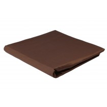 Ponti Home, Satin Fitted Sheets Brown, Bed Sheet, King Size