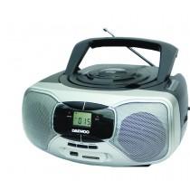 Daewoo Stereo CD / Cassette Boombox Radio - DI617