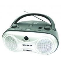 Daewoo Stereo CD / Cassette Boombox Radio - DI611