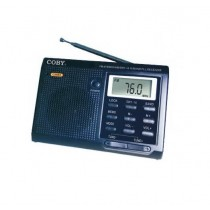 Coby AM / FM Radio Portable with Clock - CX602