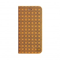 Promate Rouge i6P for iPhone 6 Plus Leather Book Style Folio Case, Yellow