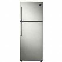 Samsung Top Mounted Refrigerator, Twin Cooling Plus, 380 Liters, Platinum Inox - RT38K5110SP