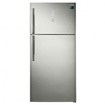 Samsung Top Mounted Refrigerator, Twin Cooling Plus, 620 Liters, Silver - RT62K7060SP