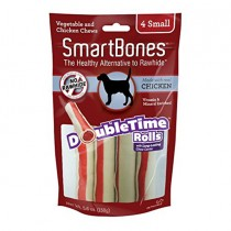 SmartBones Chicken Doubletime Rolls, Small, 4 pieces
