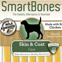 SmartBones Skin & Coat Healthcare chews, 16 pieces