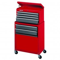 Stack-On, SC600  6 Drawer Tool Chest and Cabinet Combo, Red