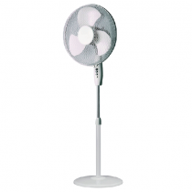 Campomatic Stand Fan, 18 inch, White - SF300R