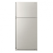 Sharp 2 Doors Refrigerator 649 Liters Silver