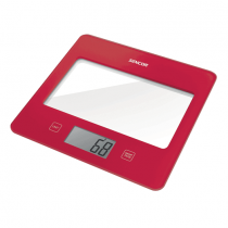 Sencor, Kitchen Scale, Red, SKS-5024RD