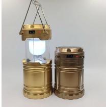 Desert Fox, Solar Rechargable Phone Charging 6 In 1 Camping Lantern