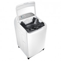 Samsung Top Load Washer, 11 KG, 2 G Wobble, Active Dual Wash, White - WA11J5710SW/FH