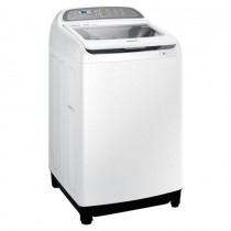Samsung Top Load Washer, 13 KG, 2 G Wobble, Active Dual Wash, White - WA13J5730SW/FH