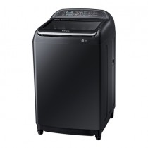Samsung Top Load Washer, 16KGS, 2 G Wobble, Active Dual Wash, Black Stainless - WW70J4373MA/FH
