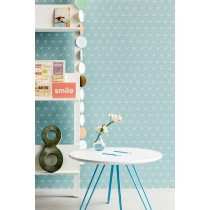 BN Wall Coverings, Circles And Flowers Design Colorverdatre