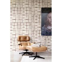 BN Wall Coverings, Wallpaper Blocks Design Color Light Brown