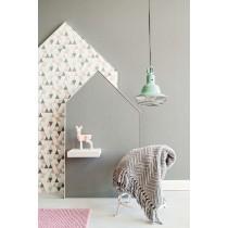 BN Wall Coverings, Wallpaper Plain Color Dark Grey
